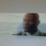 Star Wars Episode 1 Mace Windu widescreen post card
